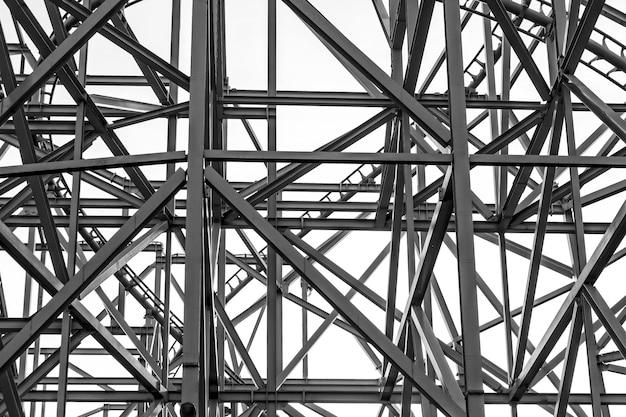 Estrutura de construção em metal