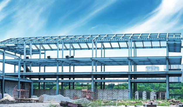 Estrutura de estrutura de aço