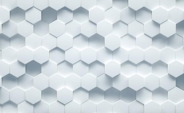 Estrutura de fundo geométrico branco