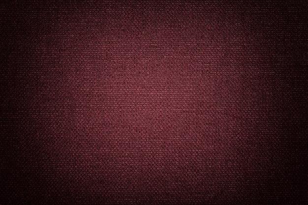 Estrutura do tecido vinho com textura