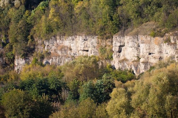 Estrutura rochosa no canyon