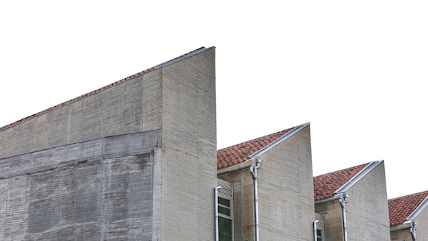 Estruturas de edifícios de apartamentos na cidade