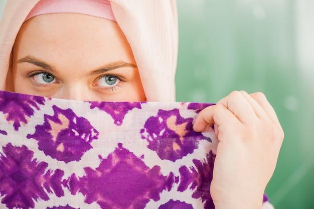 Estudantes muçulmanos do ensino médio