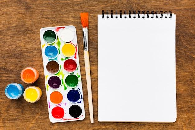 Estúdio de arte e criatividade de artigos de papelaria