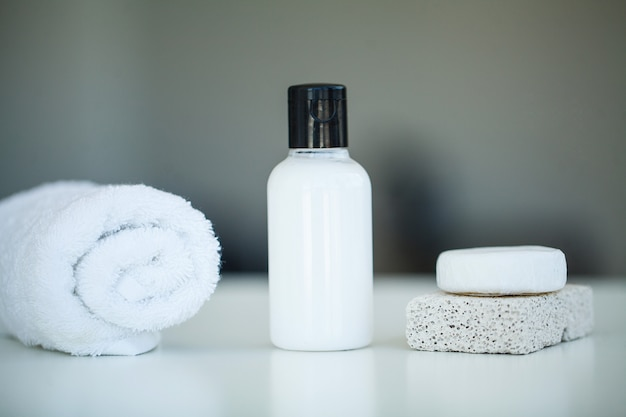 Estúdio de spa. produtos domésticos naturais para cuidados da pele