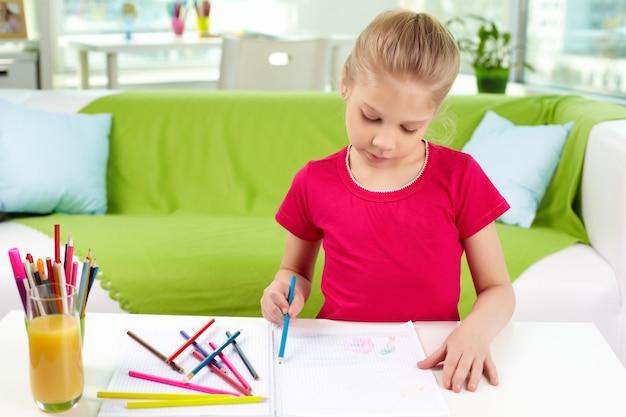 Estudo artista uma educação adorável