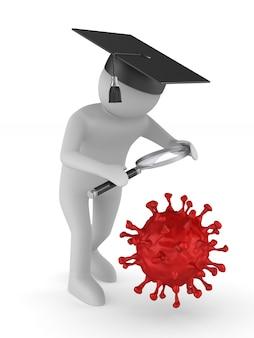 Estudo de vírus em branco.