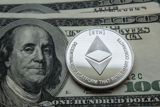 Ethereum cripto moeda ethereum. moeda ethereum em gráficos de troca.