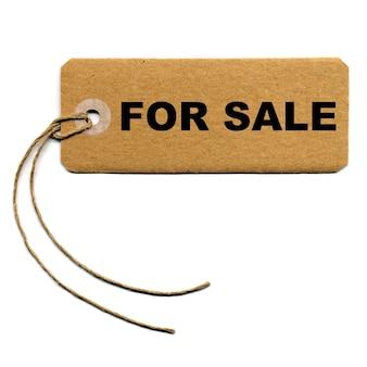 Etiqueta de venda