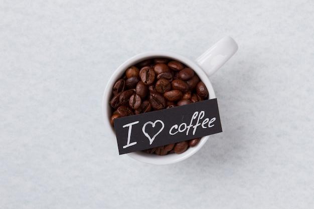 Eu amo o conceito de café