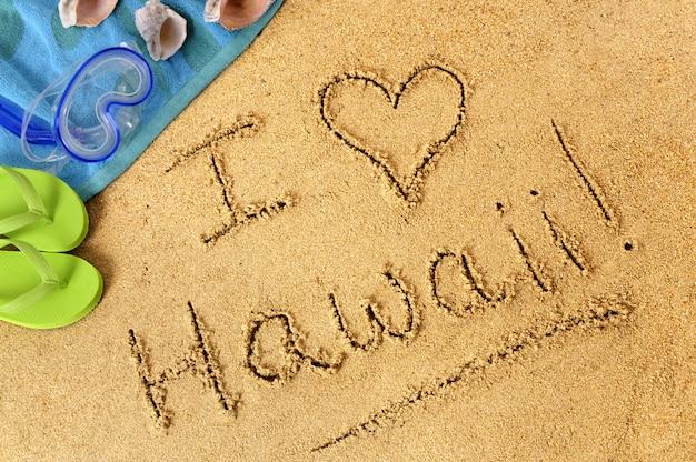 Eu amo o havaí