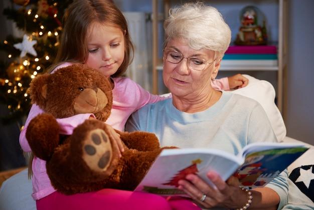 Eu gostaria de ler um livro como minha avó