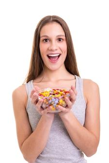 Eu simplesmente amo doces!