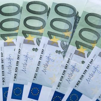 Euro dinheiro. fundo de dinheiro do euro. notas de dinheiro do euro.