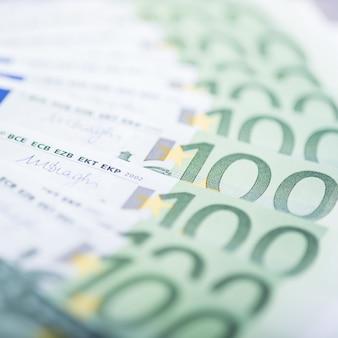 Euro- dinheiro. fundo de dinheiro do euro