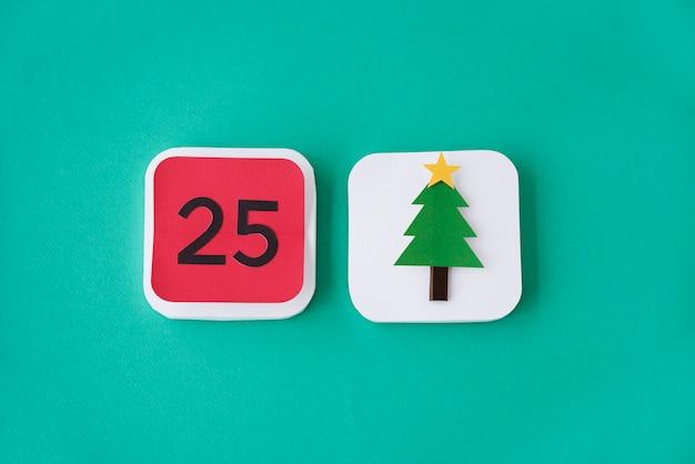 Evento de natal feliz festivo comemore o conceito de férias