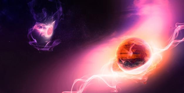 Evolução dos planetas no espaço