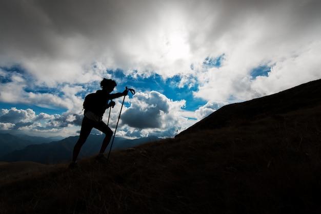 Excursão na montanha