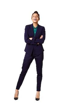 Executivo de negócios feminino jovem bem sucedido