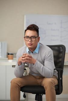 Executivo de negócios