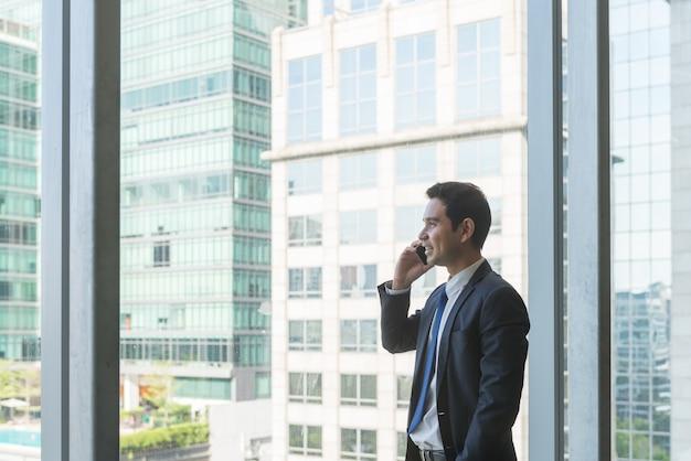 Executivo empresarial janelas corporativa adulto