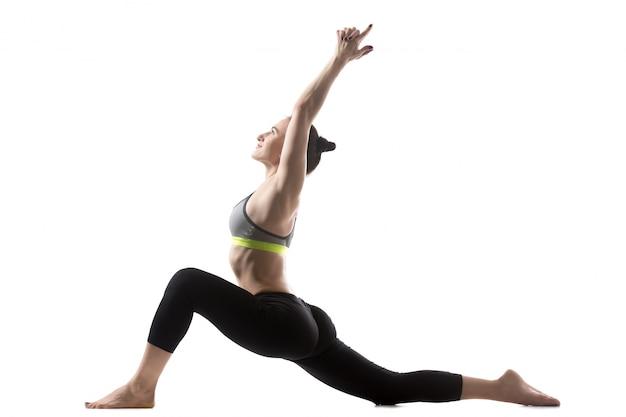 Exercício baixo lunge