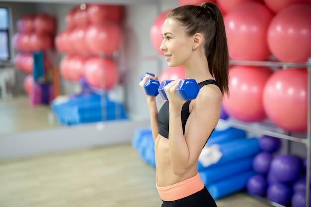 Exercício no ginásio