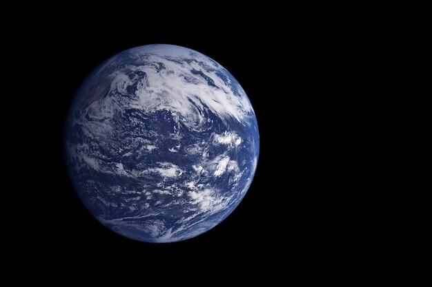Exoplaneta oceânico. os elementos desta imagem foram fornecidos pela nasa. foto de alta qualidade