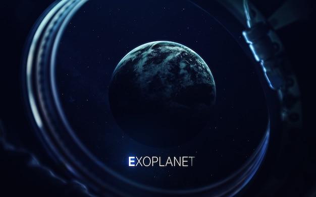 Exoplanetas trapista-1e longe do sistema solar
