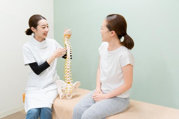 Explicação da massagem
