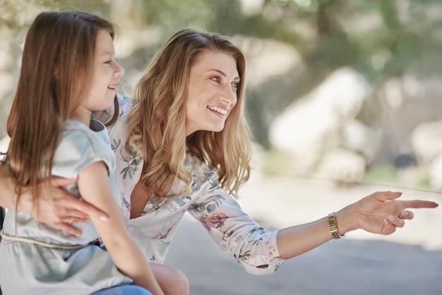 Explorando a palavra com a mãe