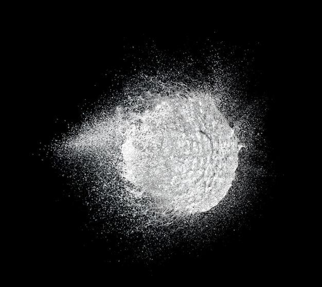 Explosão de água