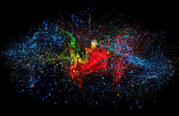 Explosão de cor