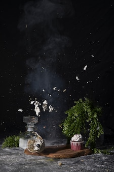 Explosão do cupcake