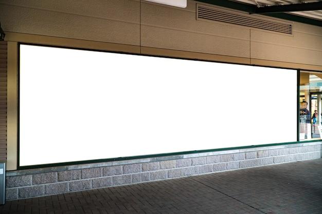 f9c485c60 Exposição de cartaz em branco simulado modelo