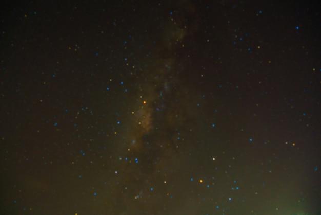 Exposição fundo cosmos galáxia estrelado