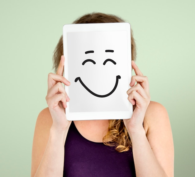 Expressões faciais ilustrações emoções sentimentos