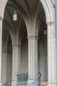 Exterior da catedral nacional, washington dc