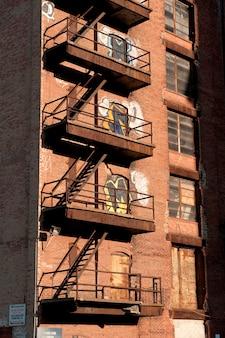Exterior de um edifício em boston, massachusetts, eua