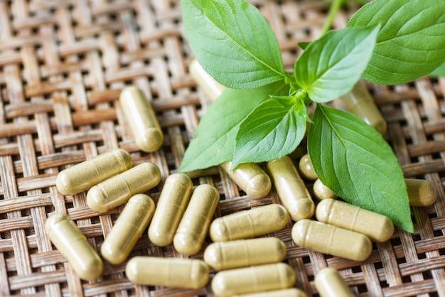 Extrato de ervas medicinais da natureza cápsulas de ervas