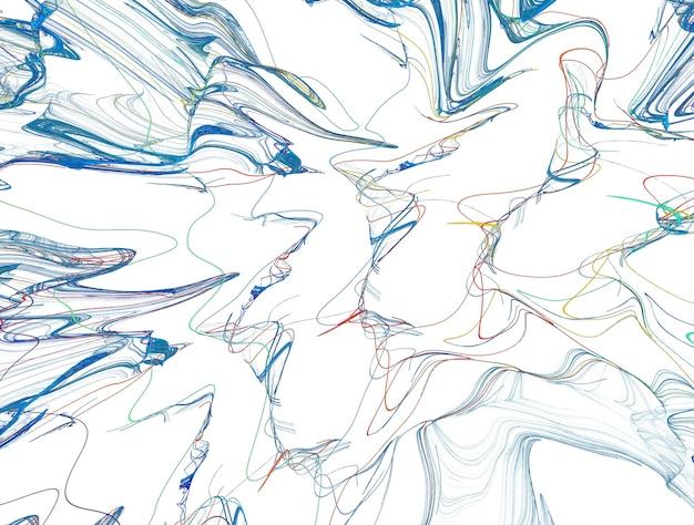 Exuberante fundo imaginativo de fractal