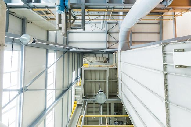 Fábrica de fabricação, produção moderna de alta tecnologia