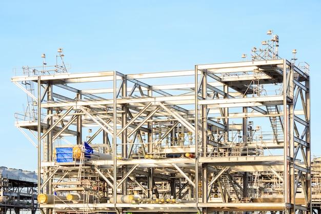 Fábrica de refinaria de gnl