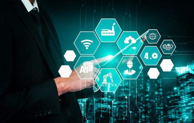 Fábrica inteligente para a quarta revolução industrial