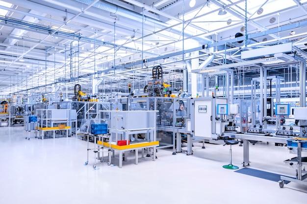 Fabricação de motor de carro em fábrica de automóveis