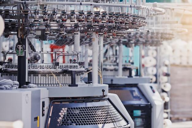 Fabricação de têxteis tecido de malha circular