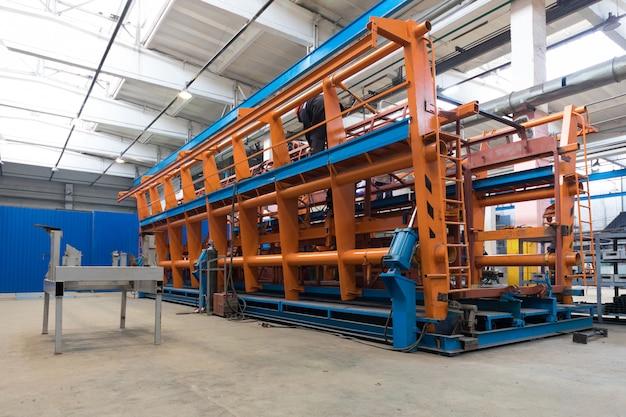 Fabrico de produção de autocarros