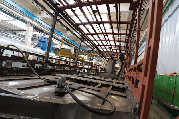 Fabrico de produção de bonde