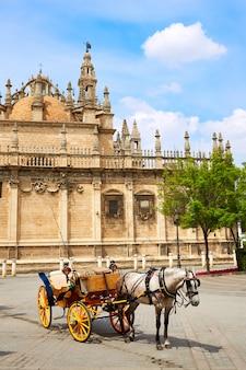 Fachada catedral de sevilha de sevilha andaluzia