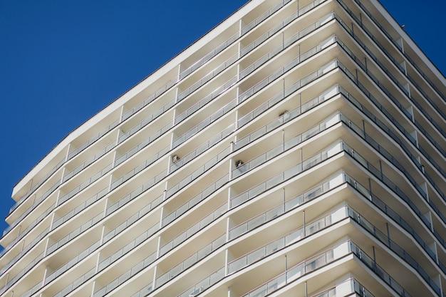 Fachada do edifício residencial
